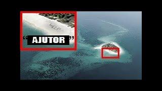 Datorita unei poze făcute din avion, a fost găsit un om pe o insulă nelocuită!