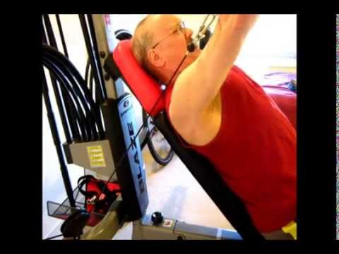 Bench Presses on the Bowflex Blaze