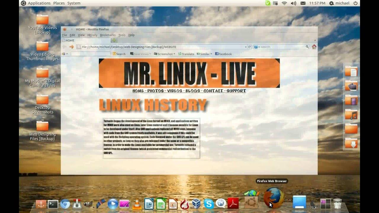 Web Designing In Ubuntu Linux - Getting Started (v1) - YouTube