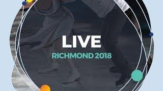 LIVE 🔴 | Ladies Free Skating | Richmond  2018