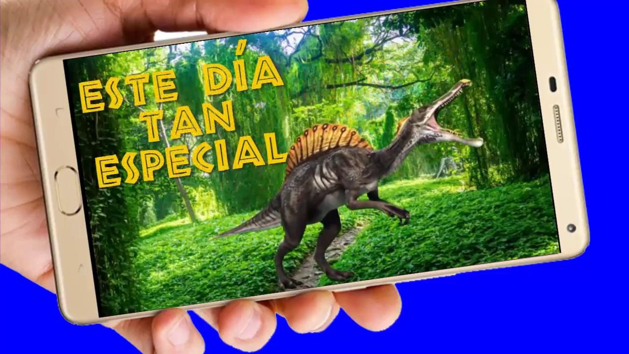 Dinosaurios Video De Invitación O Cumpleaños De Para Whatsapp O Redes Sociales Aquisevendeccs