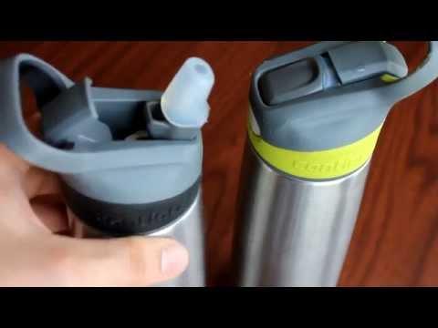 Contigo Autospout Stainless Steel Sheffield Water Bottle Review