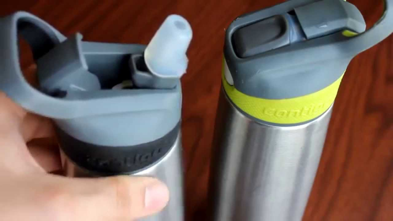 e13d03fc05 Contigo Autospout Stainless Steel Sheffield Water Bottle Review ...