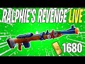 RALPHIE'S REVENGE IS BACK! Weekly / Event Store Update LIVE | Fortnite Save The World Livestream