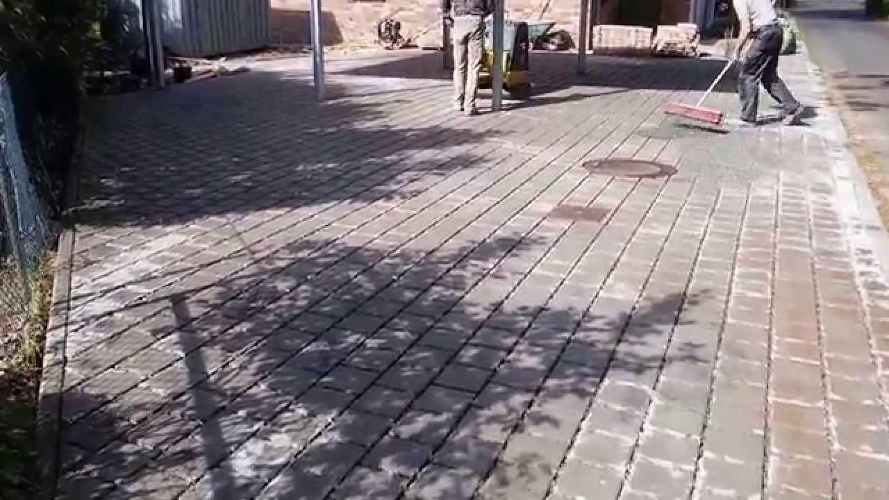 pflastersteine fachgerecht abruetteln youtube