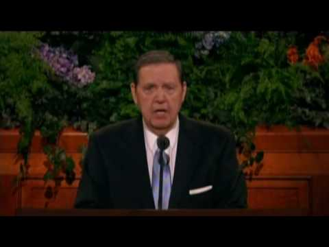 Jeffrey R Holland Book of Mormon LDS Conference Talk Oct 2009 179 HD (2/2)