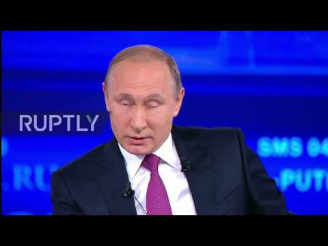 Russia: 'Economic crisis is over,' says Putin during annual 'Direct Line' Q&A