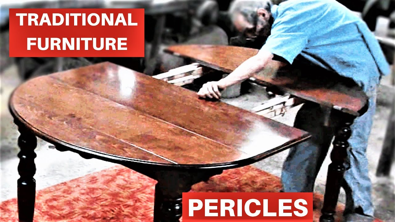 Dining room table extender - YouTube