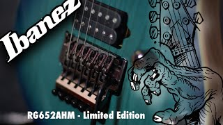 ibanez RG652AHM Demo