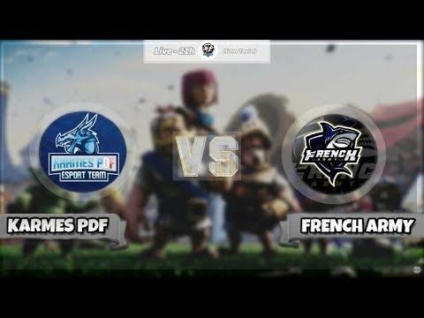 [FR] [ENG] CAST DU CLAN WAR : French Army B VS Karmes PDF !