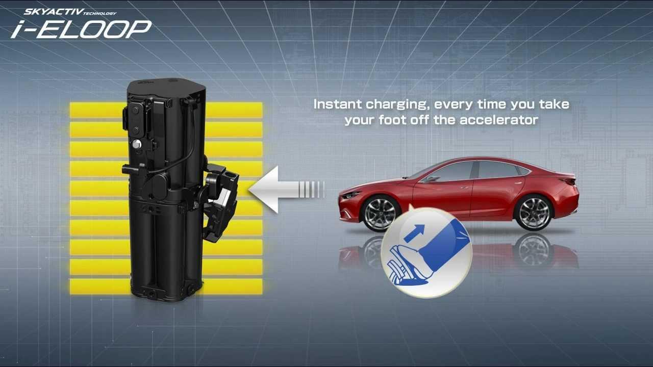 SKYACTIV i-ELOOP by Mazda - ho...