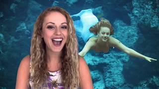"""Tail Mail"" with Weeki Wachee Mermaid Lydia from Dakota in Brooksville, FL"