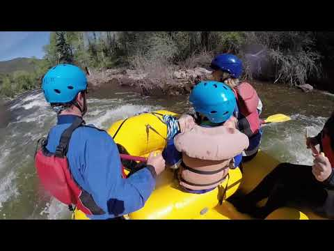 Whitewater Rafting On The Upper Roaring Fork River