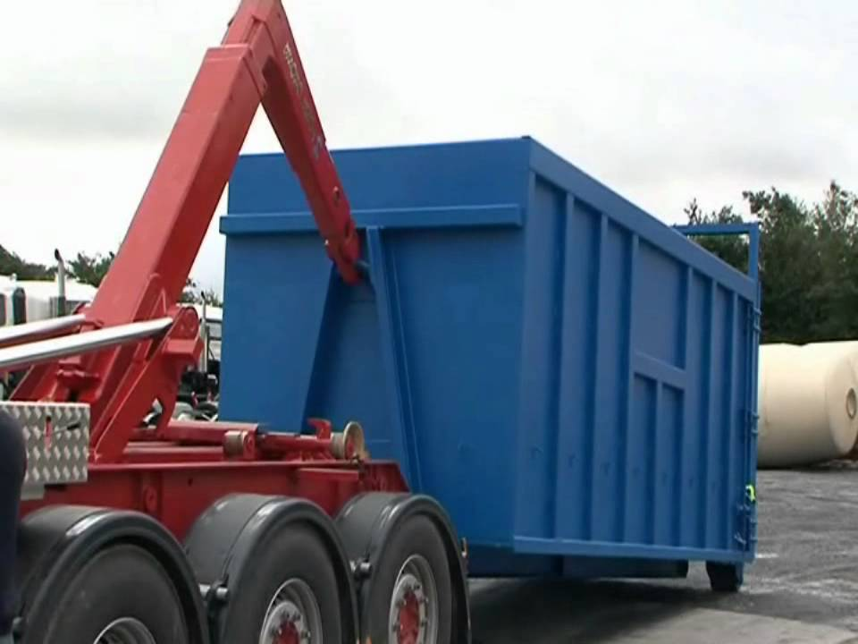 hook loader trailer roll on roll off from ets trailer hire