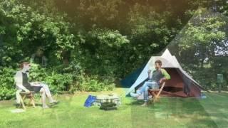 Kamperen op Camping de Watermolen in Groningen, de kampeervelden en accommodaties, juni 2017