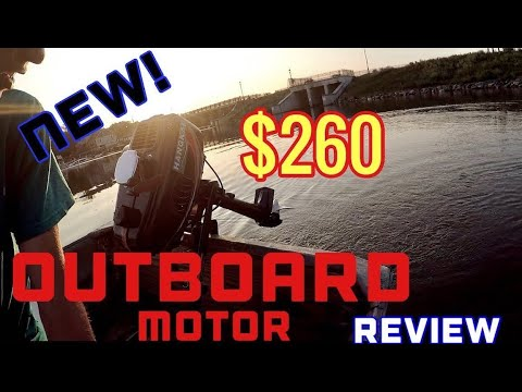 $260 Scian 3.5HP Outboard Motor Review!
