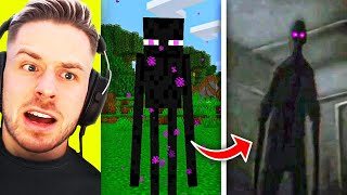 CURSED (verfluchtes) MINECRAFT Mobs VS Real Life.. 😱