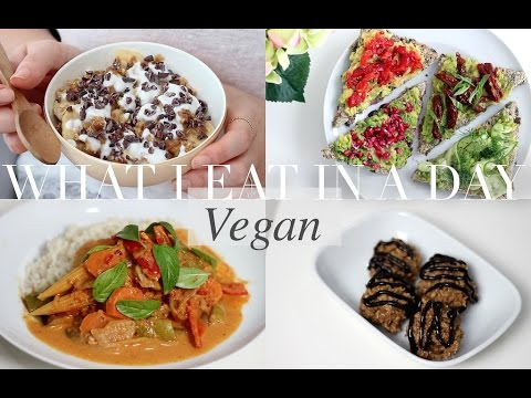 What I Eat in a Day #16 (Vegan/Plant-based) | JessBeautician
