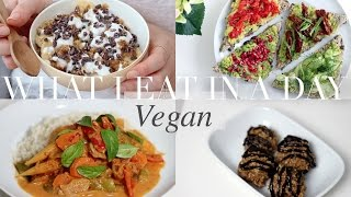 What I Eat in a Day #16 (VeganPlant-based)  JessBeautician