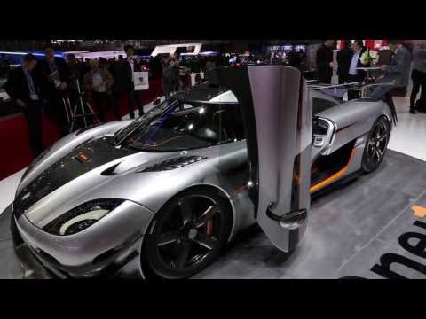 1,341-horsepower Koenigsegg One:1 debuts at 2014 Geneva auto show