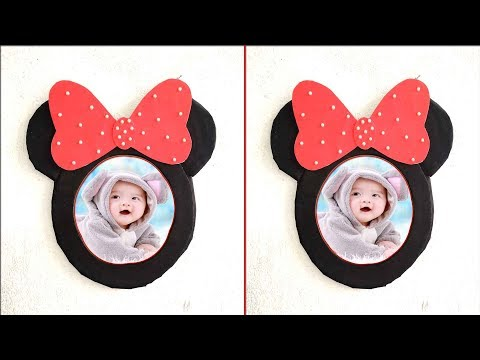 DIY photo frame ideas|| How to decorate your room easily|| DIY paper crafts