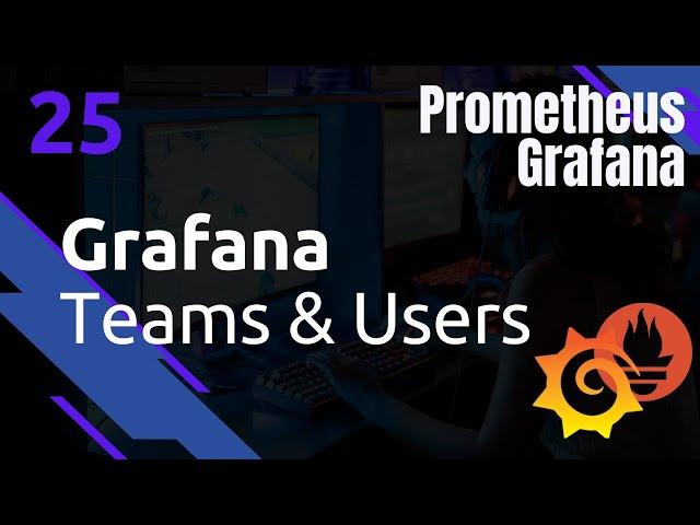 GRAFANA - 25. TEAMS ET USERS