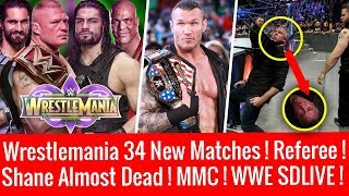 Wrestlemania 34 New Matches & Winners ! Special Guest Referee ? WWE Smackdown 3/13/2018 Highlights