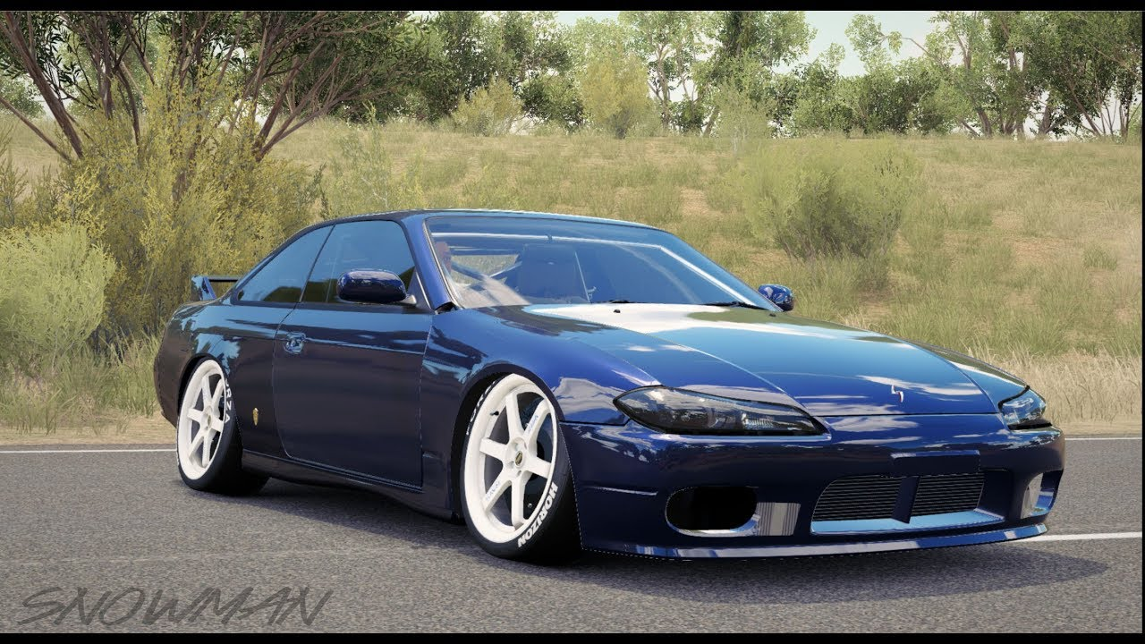 Forza Horizon 3 Mods S14 With S15 Front Clip Download Youtube