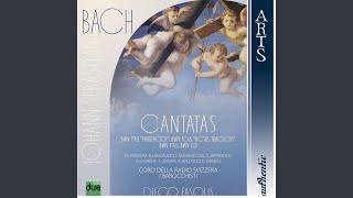 Cantata Gottes Zeit ist die allerbeste Zeit BWV 106 Actus Tragicus: Sonatina