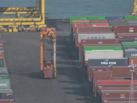 Barcelona port: container traffic