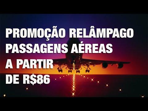 PASSAGENS AÉREAS MAIS BARATAS! TRECHOS A PARTIR DE R$86!