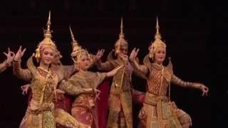 Thai Royal Khon Performance(โขนพระราชทาน) : Thai ballet and classical dance : Prelude Dance