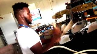 """Ray J & Chris Brown """"Famous"""" Drum Cover"""