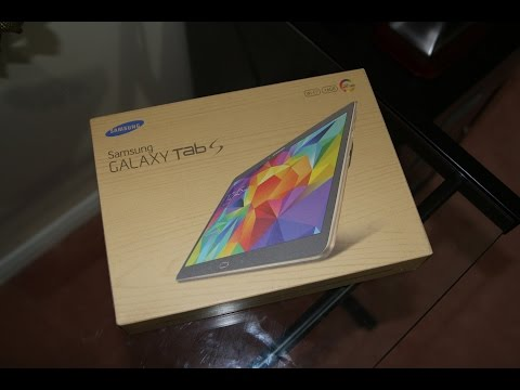 Samsung Galaxy Tab S 10.5 Unboxing and First Impression