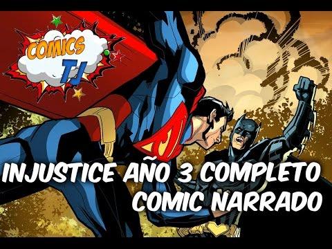 INJUSTICE año 3 Completo Llegan los seres magicos Comic Narrado Completo @Comics Tj