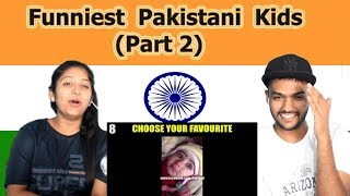 Indian reaction on Funniest Pakistani Kids | Part 2 | Swaggy d