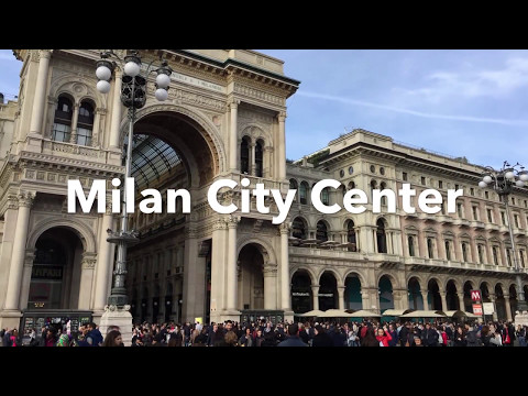 Milan City Center Tour