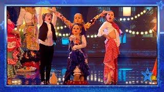 Los hermanos PETER y LOLA se ponen MUY FLAMENCOS | Semifinal 1 | Got Talent España 2019
