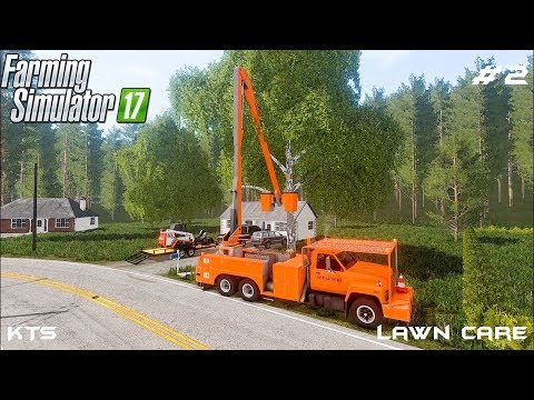 Removing tree | Lawn Care | Farming Simulator 2017 | Episode 2 thumbnail