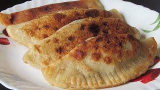 Чебуреки - хрустящие и сочные! Простой и быстрый рецепт вкусных чебуреков.