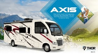 2020 Axis® RUV™ From Thor Motor Coach RV's with the Best of a Class A Motorhome & a SUV