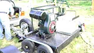 Villers water pump aden vintage tractor day 2010