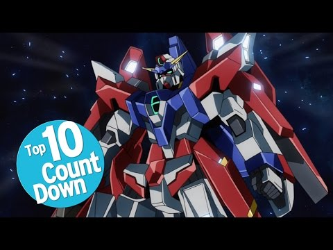 Top 10 Mechs in Anime