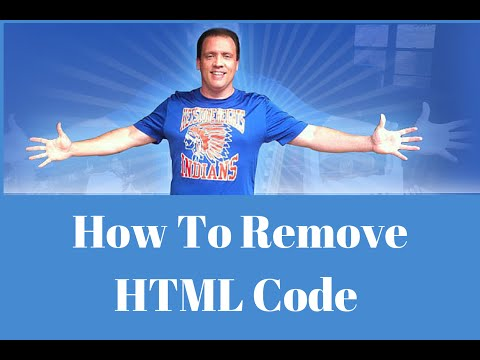 How To Remove HTML Code From EBay Descriptions