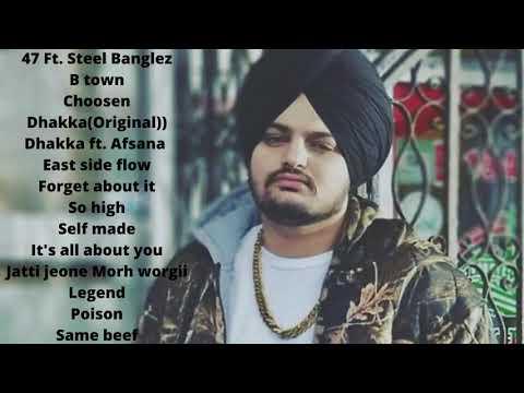 Hits Of Sidhu Mose Wala  Sidhu Moose Wala All Songs  #jukebox