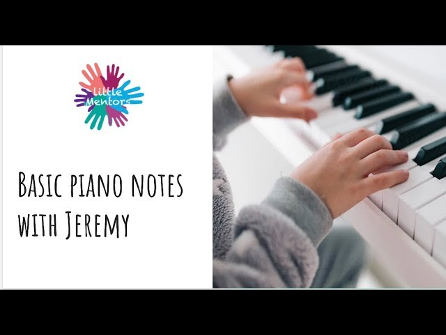 Little Mentors - Essentials of Piano