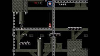 Super Mario Bros X ~ Custom Level ~ Many Industrial Machines