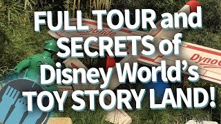 Disney World's Toy Story Land -- EVERYTHING YOU NEED TO KNOW!!