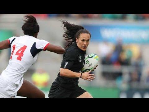 Black Ferns vs USA Womens RWC 2017
