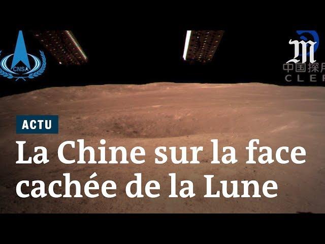 La Chine s'est posée sur la face cachée de la Lune